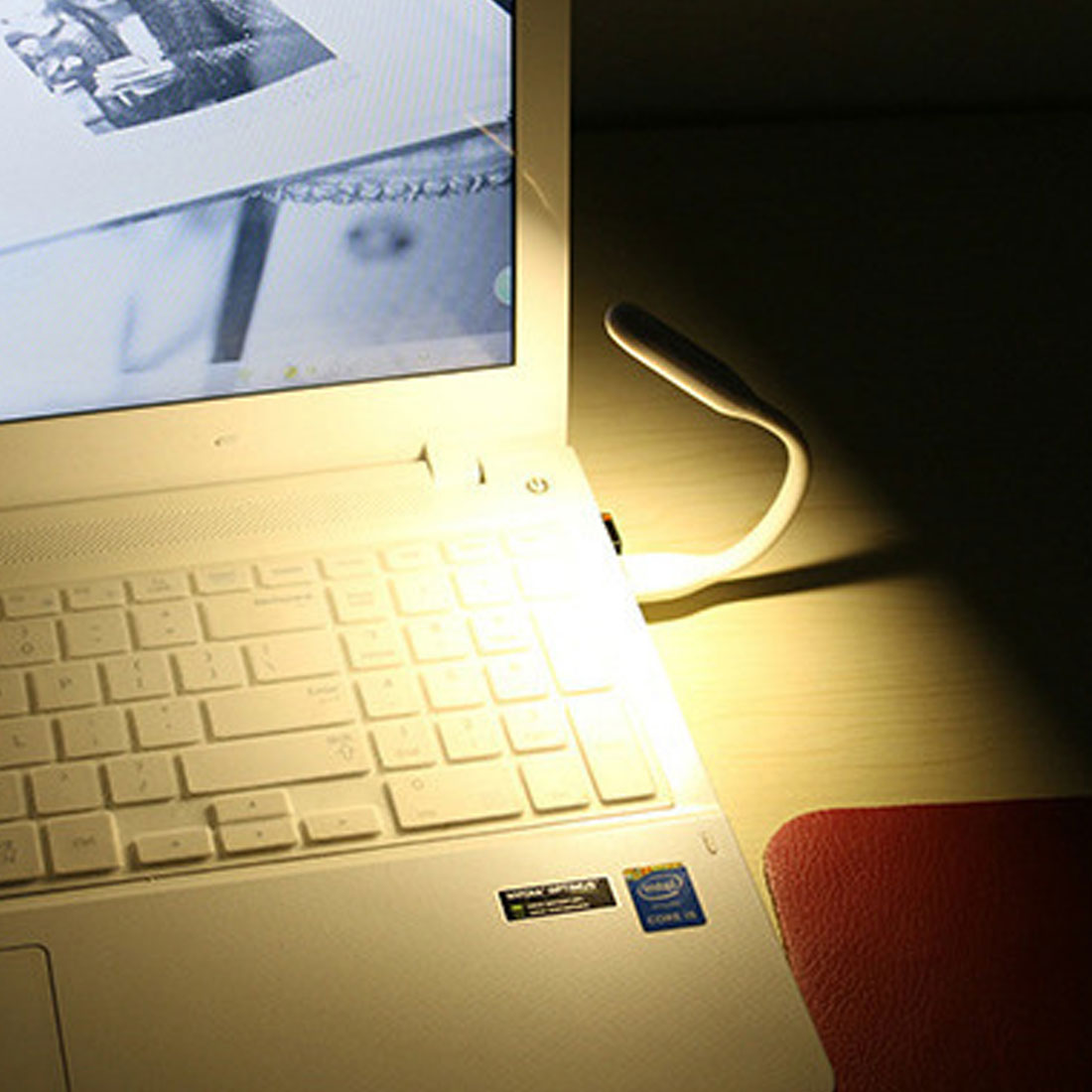 Hot Mini Reading Study USB LED Lamp Light Torch For Conputer PC Notebook Laptop