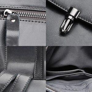 Image 5 - Zency moda kadın sırt çantası 100% hakiki deri sırt çantası rahat seyahat çantası tiki tarzı kız erkek okul çantası yüksek kaliteli çanta