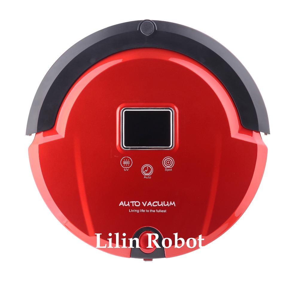 4 In 1 Multifunction Automatic Vacuum Cleaner (Sweep,Vacuum,Mop,Sterilize),LCD,Touch Button,Schedule Work,AutoCharge