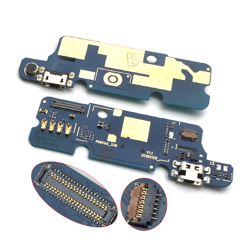 New For Wiko U Feel USB Board Plug Charge Port Dock Connector Flex Cable