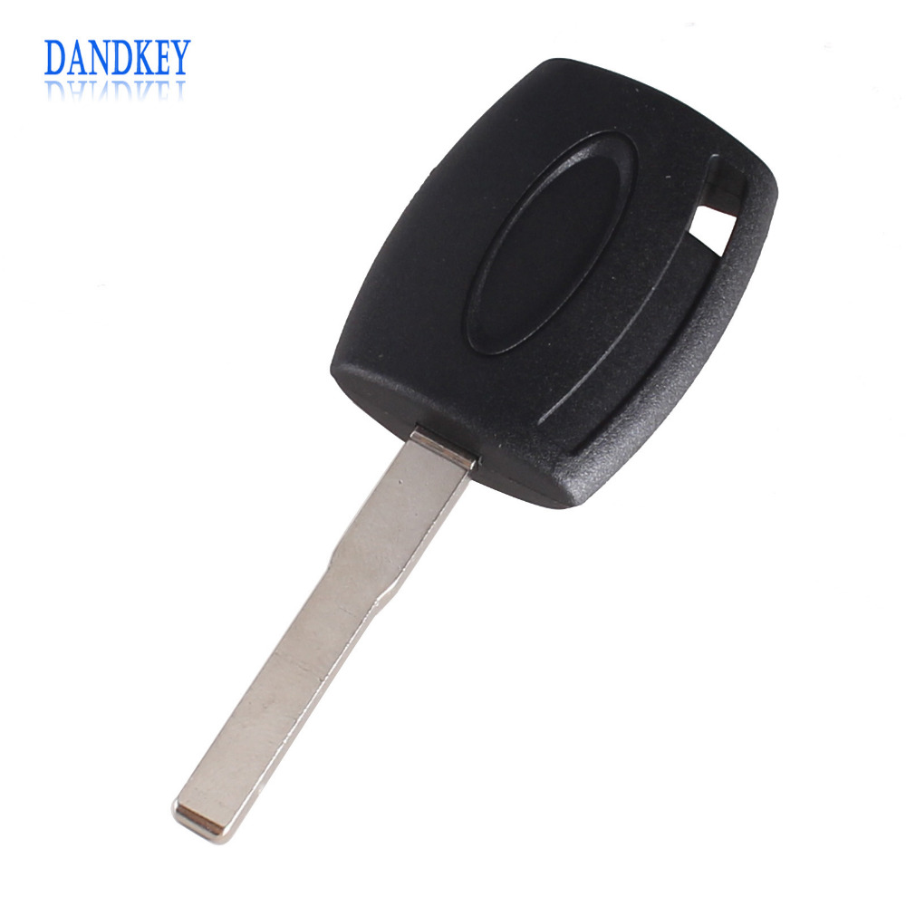 Dandkey Transponder Key Case Shell For Ford Fiesta Mondeo Focus C-Max S-Max Galaxy Kuga HU101 2x 18 smd led license plate light module for ford focus da3 dyb fiesta ja8 mondeo mk4 c max s max kuga galaxy