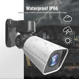 Image 4 - 4X Zoom 5MP PTZ IP Camera Outdoor 2592*1944 48V POE PTZ Bullet Camera Waterproof IP66 IR 50M CCTV Security Camera IOS Android