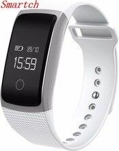 Smartch Лидер продаж Сенсорный экран A09 Смарт-часы браслет Presión arterial сердечного ритма Мониторы шагомер Фитнес смарт-браслет