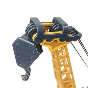 Image 4 - ילדים סימולציה הנדסת רכב ילד ילדי של ידני מיקסר מנוף כבאית צעצוע מתנות diecast 1:55 בני רכב צעצועי רכב מתנה