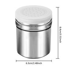 3pcs Stainless Steel Salt Pepper Shaker Set Condiment Box Cooking Seasoning Bottle Barbecue Tool Kitchen Harb and Spice Tools