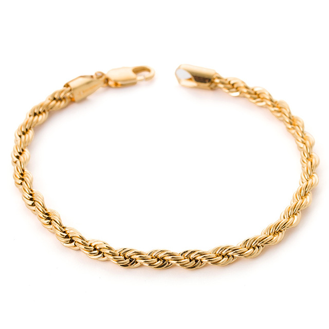 row gold fpx s bracelet macy twisted product main image shop heart link double in