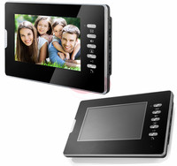 Video Intercom 7 inch Kleur LCD Indoor Monitor Video Deur Telefoons Zwart-wit Kleur voor Kiezen 100 V Naar 240 V Power Supply