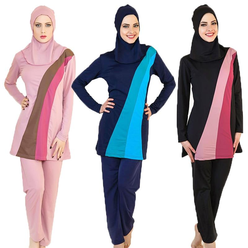 Bien connu 2016 Nouveau Musulman Maillots De Bain Femmes Couverture Modeste  GE98