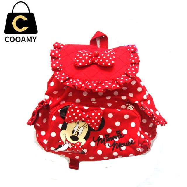School Bags For Teenagers Canvas BackPack Cute Girls Backack Cartoon Bookbags Children School Bags For Kids Baby Back Pack