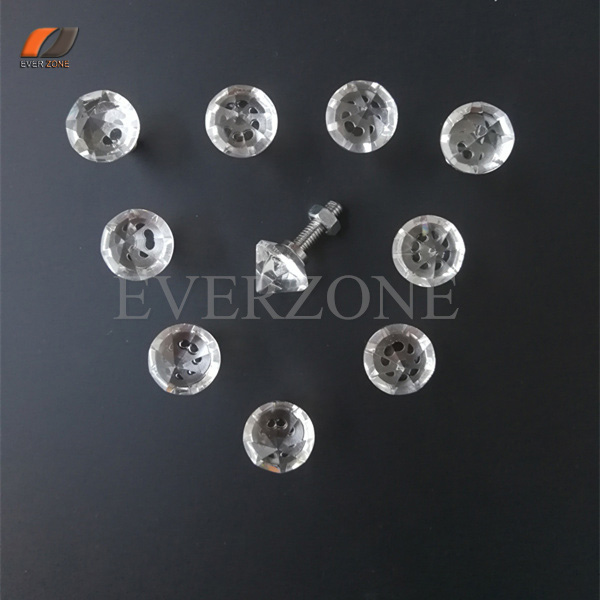 Fiber Optic Lights Crystal End Fittings for Shinning Stars Effect 10pcsFiber Optic Lights Crystal End Fittings for Shinning Stars Effect 10pcs
