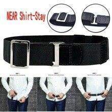 Near Shirt Stay Best Tuck It Belt For Women Non-slip Wrinkle-Proof Holder Straps Locking Mens Adjustable