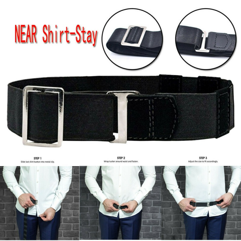 Near Shirt Stay Best Tuck It   Belt   For Women Non-slip Wrinkle-Proof Shirt Holder Straps Locking   Belt   Mens Shirt Stay Adjustable