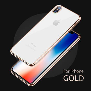 iPhone X Liquid Silicone Gel Rubber Shockproof Case Luxury TPU Full Cover