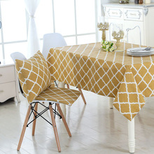 Rectangular cotton and linen table cloth coffee cloth, tablecloth round tablecloth, printed restaurant cove