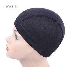 5 Pcs/lot Dom cap Mesh Cap wig cap for making wigs Weaving Cap hair net Elastic Nylon Breathable Mesh hairnets