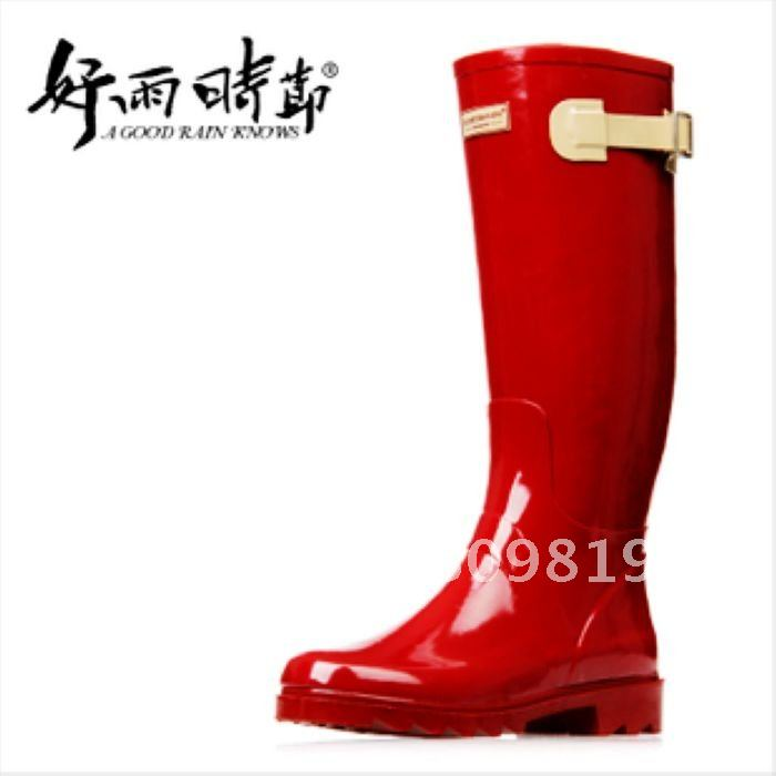 Popular Red Rain Boots-Buy Cheap Red Rain Boots lots from China ...
