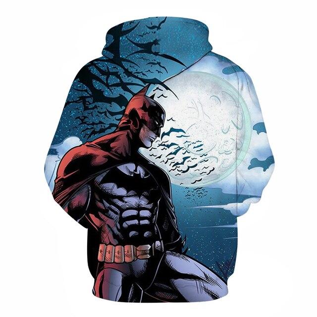 Avengers 3 Infinity War Iron Man Superhero batman Hoodie Sweatshirt For Men 3D Print Hoodies Streetwear Casual Cospaly Hoodies 1
