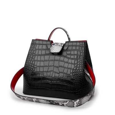 6372e56782d2 ... Высокое качество пикантные Boa узор тисненая кожа леди плеча Crossbody  сумки дизайнер для женщин курьерские Сумки