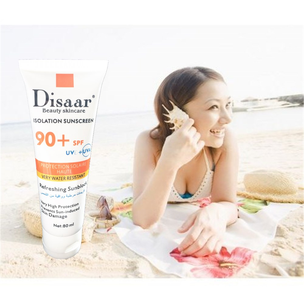 DISAAR Hyaluronic Acid Isolation Sunscreen Face Skin Care Concealer Beauty Essentials Contour Palette Base SPF90PA++ Foundation