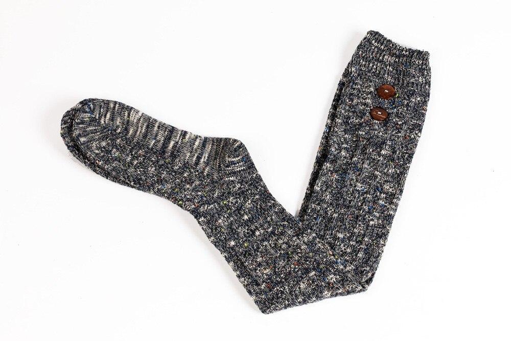 Mujeres largo Calcetines sobre la rodilla alta calcetines Medias de ...