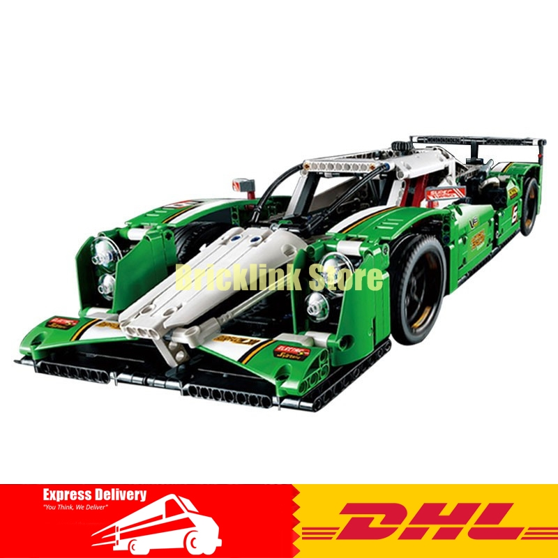 DHL Decool 3364 24 Hours Race Car building Toys for children Toy Set Boy Car Racers Car Gift Bela 42039 china brand 3364 educational toys for children diy building blocks 42039 technic 24 hours race car compatible with lego
