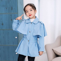 Baby Girls Coats 2019 Autumn Spring Jackets For Girls Coat Kids Turn down Outerwear Coats For Girls Jackets Children Clothes
