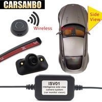 Carsanbo Vehicle Right Blind Spot System Camera Car Rear View Camera Parking System Mini Two Video Automatic Switch Control Box