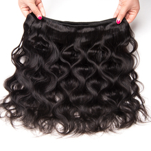 Gossip Brazilian Body Wave Human Hair Weave Bundles Natural Color Double Weft Hair Extension 10-28″Non Remy Hair Weaving 1 Piece
