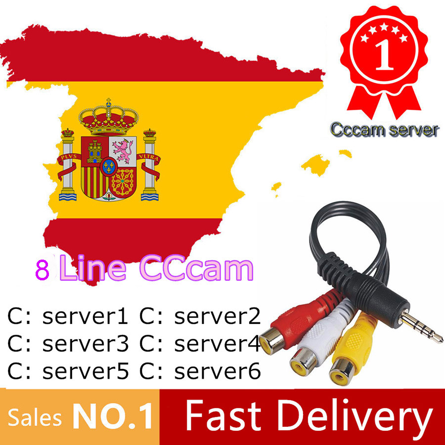 Satxtrem Cccam Server HD Clines Europa 8 Lines 1 Year Free Portugal Spain Italia Germany Cccam Oscam For Satellite TV Receiver