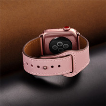 Genuine Leather Watch Band Strap For Apple Series 4 3 2 1 42mm 44mm , VIOTOO Women Luxury for iwatch