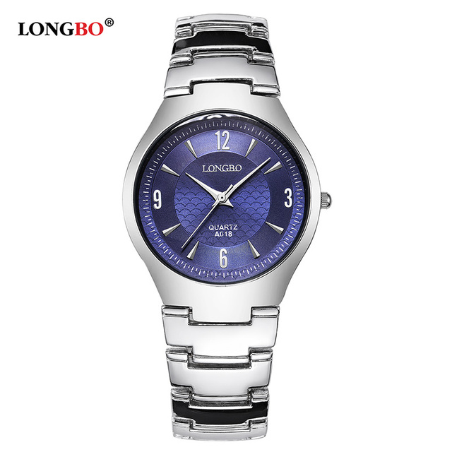 Luxury Brand Couple Stainless Steel Fashion Men Women Casual Quartz Wrist Watch