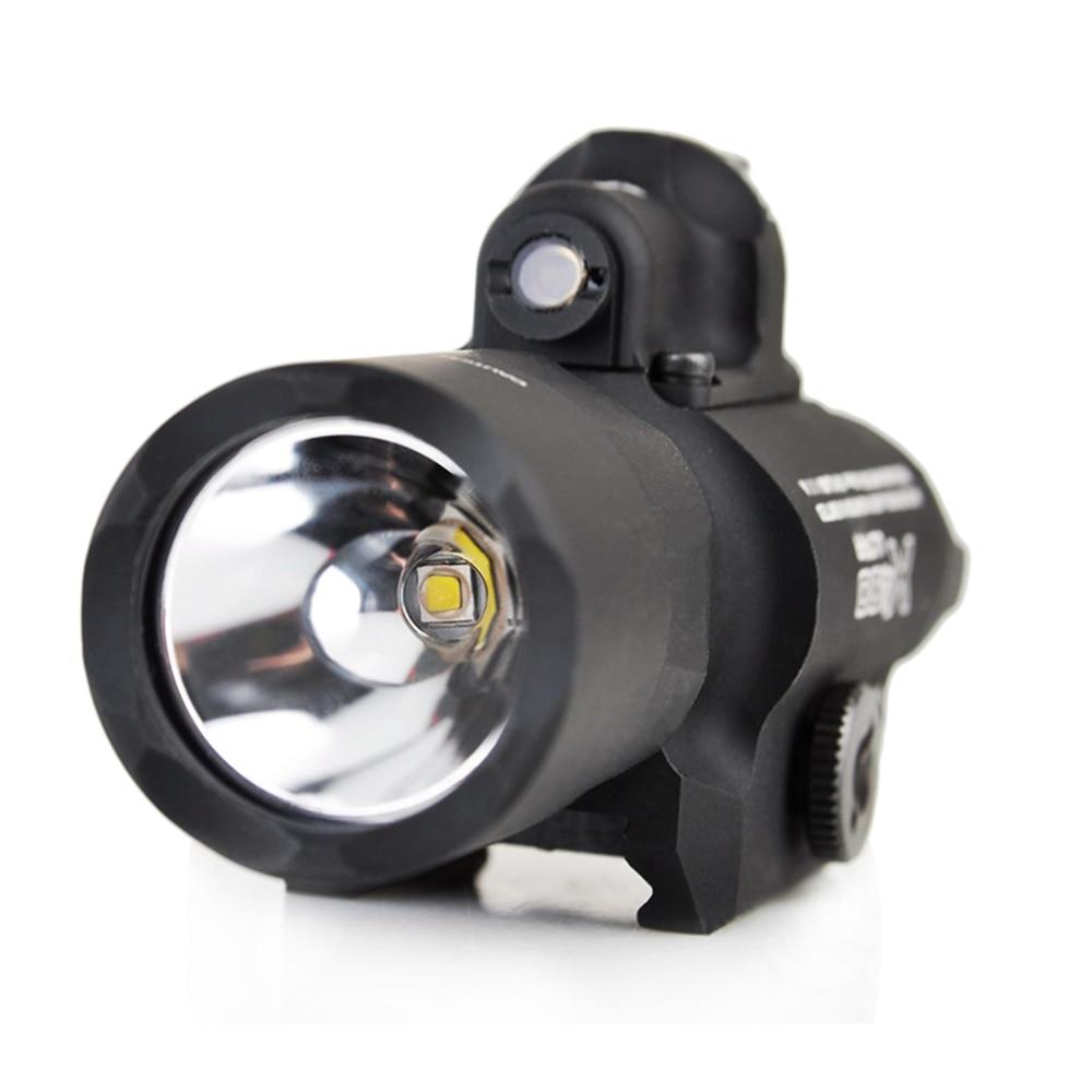 Wadsn surefir x400u ultra luz laser vermelho
