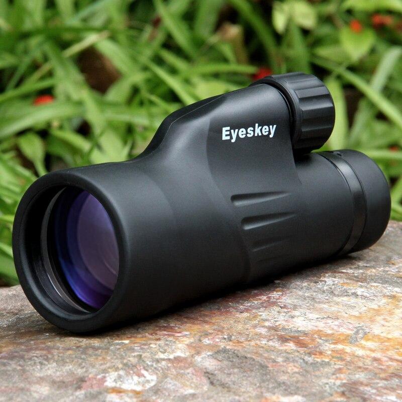 EYESKEY 8571-12X50 Monoculaire 50mm Objectif D'azote étanche BAK4 Prisme FMC Revêtement Portable Télescope Sports de Plein Air