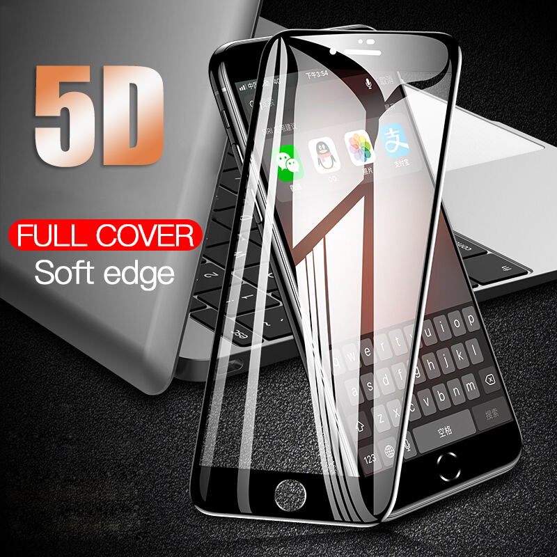 REMAX 5D Protective Glass for iPhone 7 Screen Protector iPhone 8 Xr Xs Xs Max Tempered Glass on iPhone X 6 6s 7 8 Plus Xs Glass