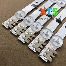 """5 ชิ้น/ล็อต 32 """"ทีวี LED Strip สำหรับ D2GE 320SC0 R3 UE32F6200 UE32F6400 UE32F4500 UE32F5300"""