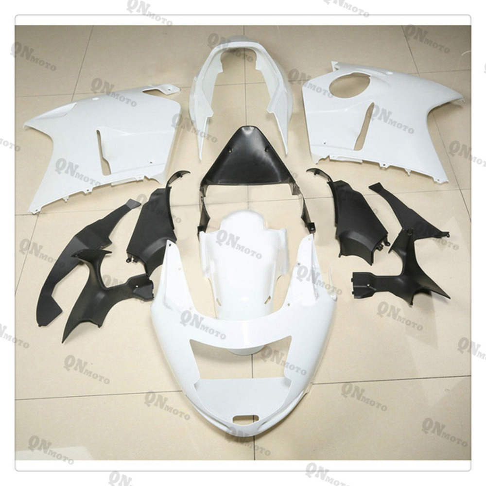 Motorcycle Unpainted White Fairing Cowl Body work Kit For Honda CBR1100XX CBR 1100 XX 1996-2007 01 02 03 04 05 06 + 4 Gift