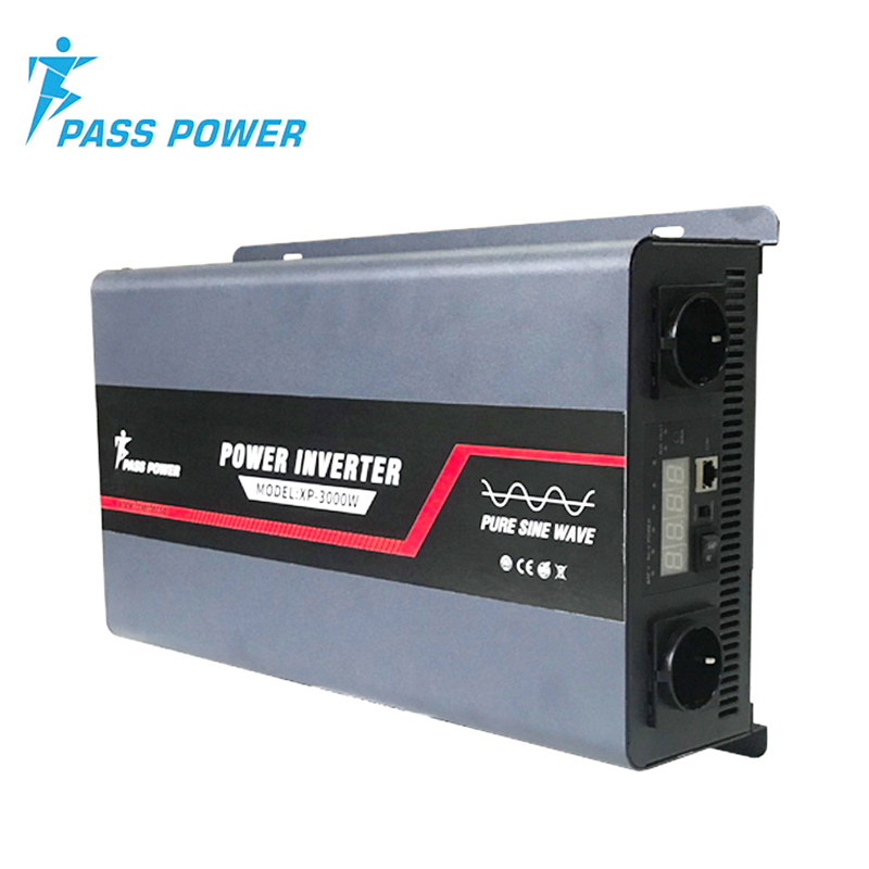 Factory Direct Selling 3000w DC12V to AC220V Off-grid Solar Inverter One Year Warranty CE&RoHS ApprovedFactory Direct Selling 3000w DC12V to AC220V Off-grid Solar Inverter One Year Warranty CE&RoHS Approved