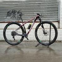 Thrust 2017 pink 27.5er Carbon Suspension Bicycle Mountain Bike Carbon MTB Frame Complete mtb Bike 15/17/19inch 29er bikes