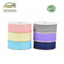 Cotton Linen Ribbon 1 25MM  For DIY Hairbow Crafts Decoration Tape