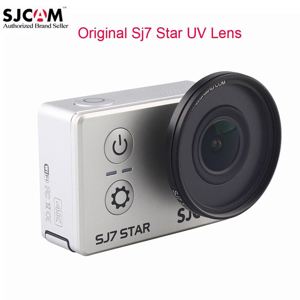 Original SJCAM Accessories SJ7 Star MC UV Lens Protection Cap Anti Scratch UV Filter Lens For