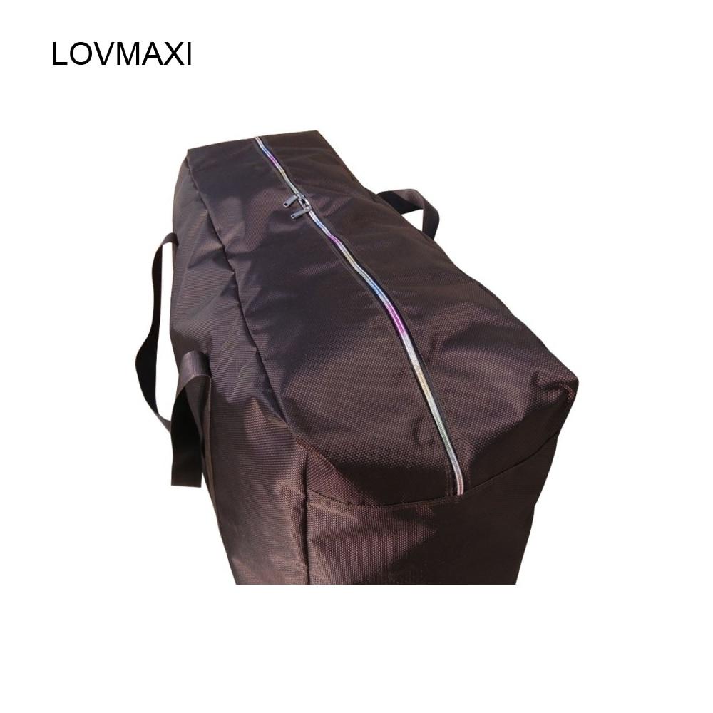 LOVMAXI Боковая молния воды ткань оксфорд мешок большой емкости портативный дорожная сумка багаж проверил мешок большие сумки