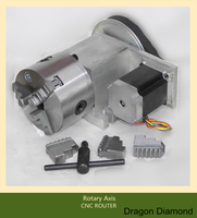 CNC Dividing Head Rotary K11 80 Three Claw Chuck 4axis Rotary Axis For The Cnc Router