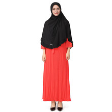 Abayas жемчуг розовый красный женская мусульманская одежда платья Хиджаб этнические халаты мусульманский Ближний Восток Макси платье принт кафтан 4,17