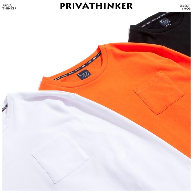 Privathinker Men Harajuku Pocket Sweatshirts Hoodies 2020 Mens Japanese Streetwear Hoodie Male Hip Hop Black Pullover Cotton