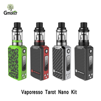 Original Vaporesso Tarot Nano TC Kit 2500mah Battery Mod With VECO Tank Clapton 0 4ohm EUC
