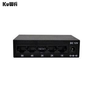 Image 5 - CE ROHS Compli 5 ポートスイッチ 10/100 100m ファストイーサネットスイッチカメラ Vlan サポート RJ45 ポートサポートする MDI/MDIX