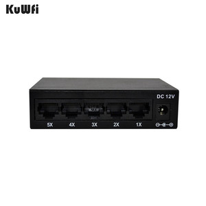 Image 5 - CE ROHS Compli 5 port Switch 10/100M Fast Ethernet Switch For Network Camera  Vlan Support RJ45 ports supporting Auto  MDI/MDIX