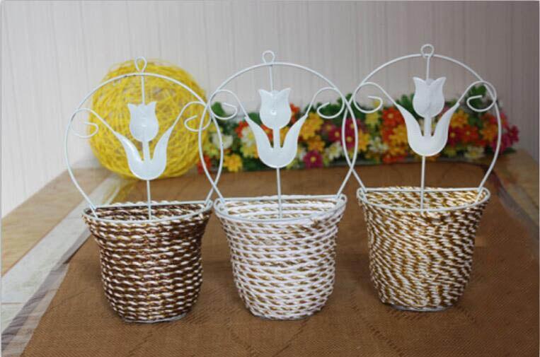 Wall Hanging Baskets popular fake hanging baskets-buy cheap fake hanging baskets lots