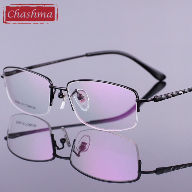 Eyeglass Frames Accessories : Chashma Pure Titan Quality Spectacles Eyeglass Optical ...