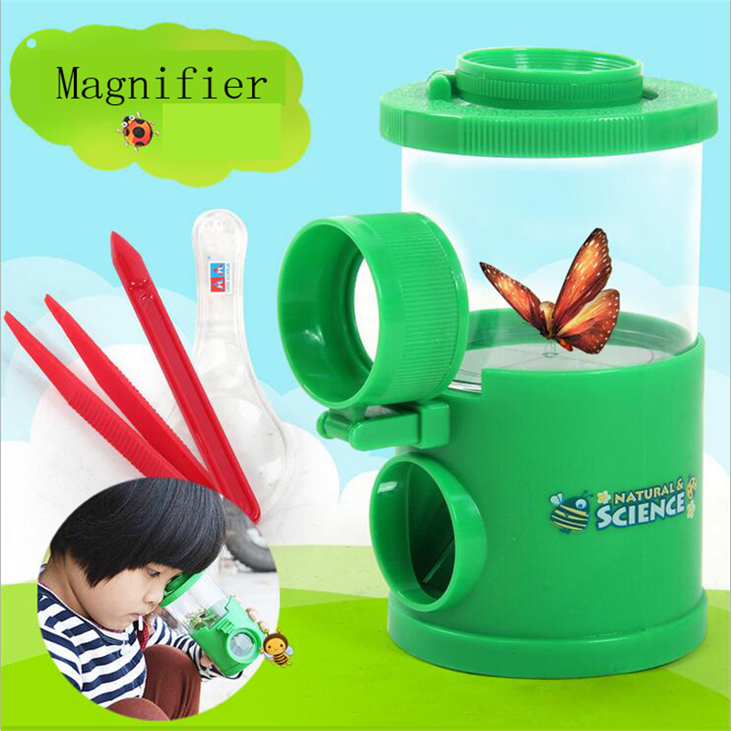 Science Educational Toys : Insect observation magnifier toy science experiment